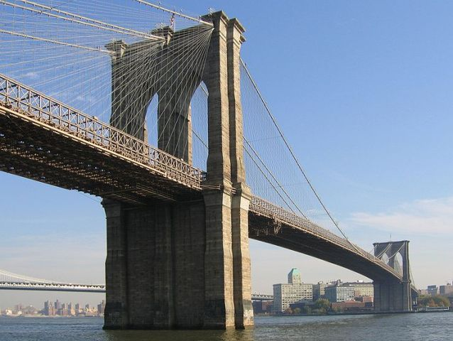 Бруклинский мост в Нью-Йорке (Brooklyn Bridge)