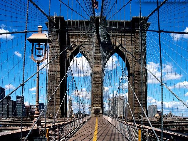 Бруклинский мост (связка несущих тросов)