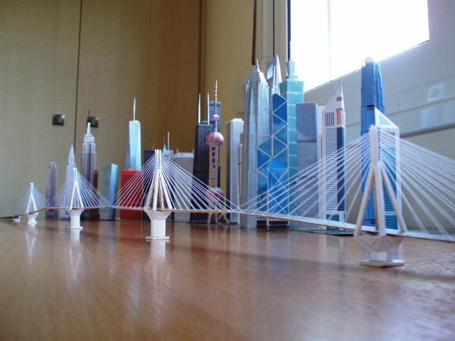 Модель самого длинного моста в мире Рио-Антирио