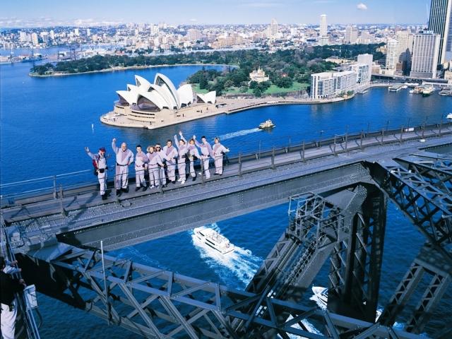 Экскурсия на вершину Моста Харбор Бридж в Сиднее