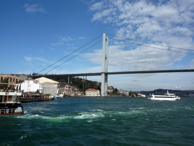 Мост через Босфор (европейский берег)