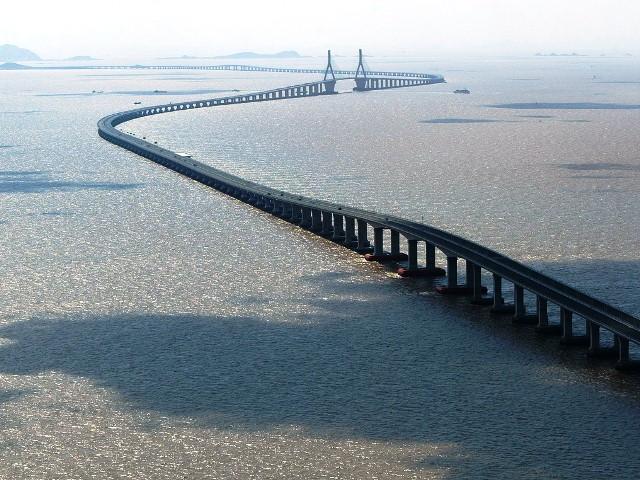 Ханчжоу, самый длинный мост в мире