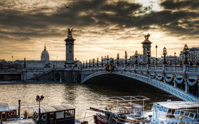 Мосты Парижа